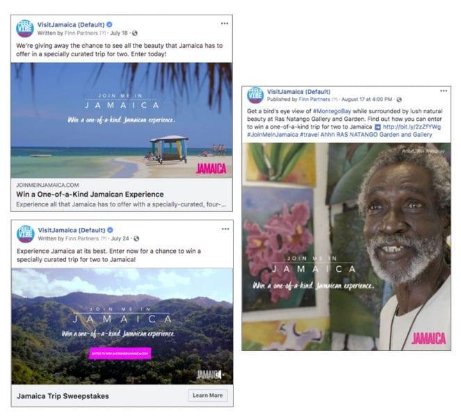Social Posts for Jamaica Tourism